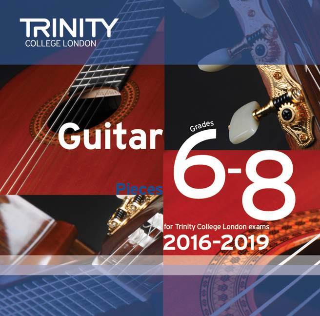 Trinity College guitar CD 2016-2019 image